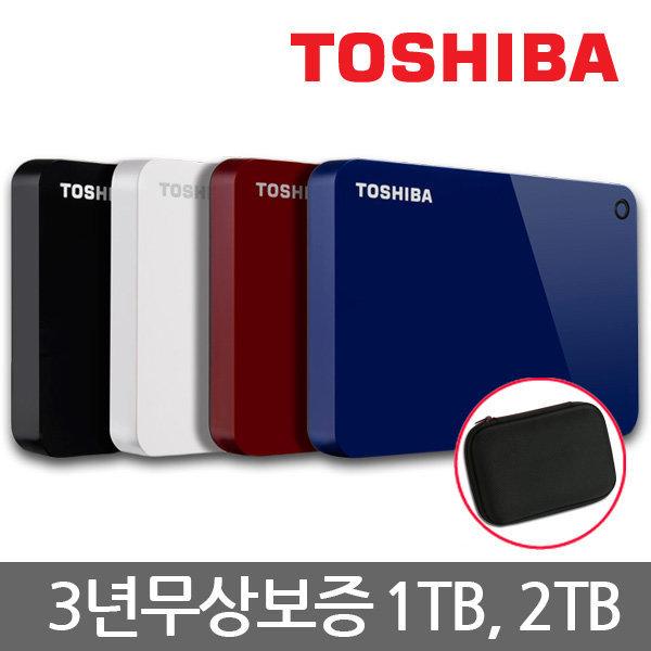 3년AS/18년형/도시바 외장하드 칸비오 어드밴스 1TB 상품이미지