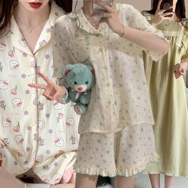 9bf43144d28 엣지걸샵 잠옷세트 면잠옷 여자잠옷 홈웨어 파자마 상품이미지