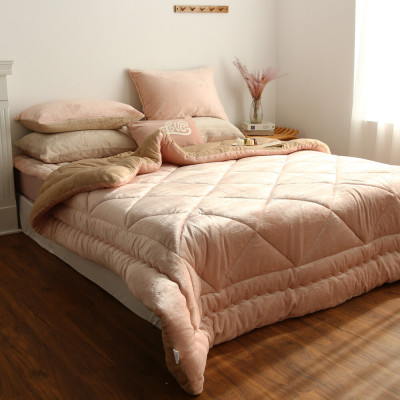 amante Warm flannel microfiber winter comforter set