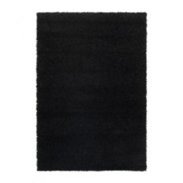 이케아 HAMPEN Rug(195X133cm) 블랙. 카페트/러그/거실매트. 상품이미지