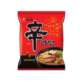 Nongshim Shin ramyun 120 g x 30 packs / ramen / noodle soup /