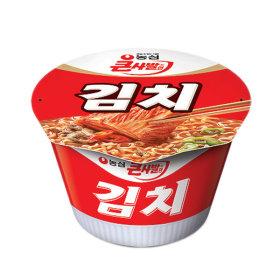 Nongshim Kimchi ramyun 112 g x 16 cups / ramen / noodle soup bowl /