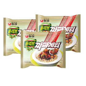 Nongshim Jjapagetti 140 g x 30 packs / black bean sauce / fried noodle /