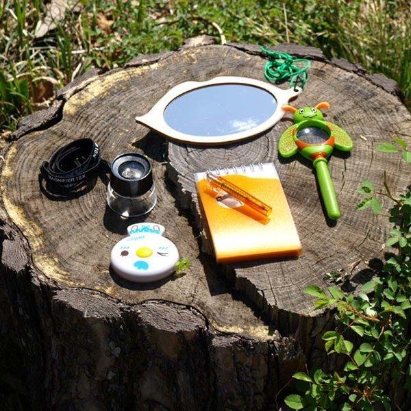 숲체험자연관찰5종세트/루페/숲도구세트/어린이날선물 상품이미지