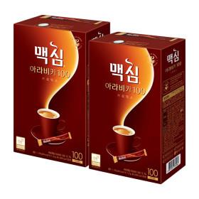 맥심 아라비카 100T+100T 총200T/커피믹스/모카골드