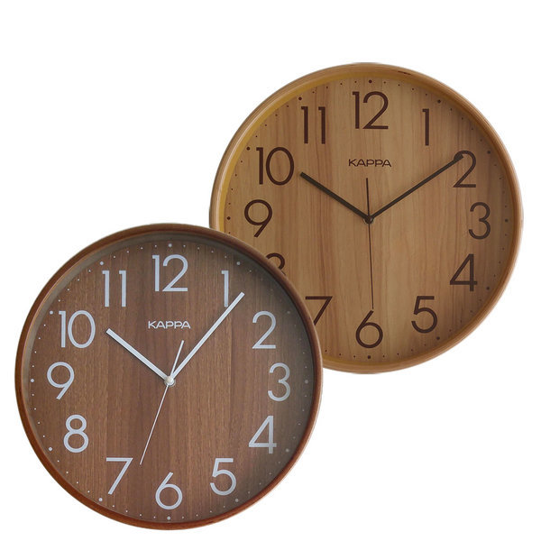 카파 W683 벽걸이시계 32cm 자작나무 벽시계 인테리어 상품이미지