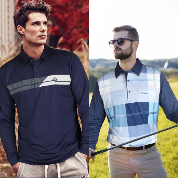 골프웨어 남자반팔티 여름카라티 기능성 쿨티셔츠 PK 상품이미지