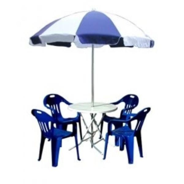 일반파라솔세트/파라솔+테이블+의자4/파라솔크기선택 상품이미지