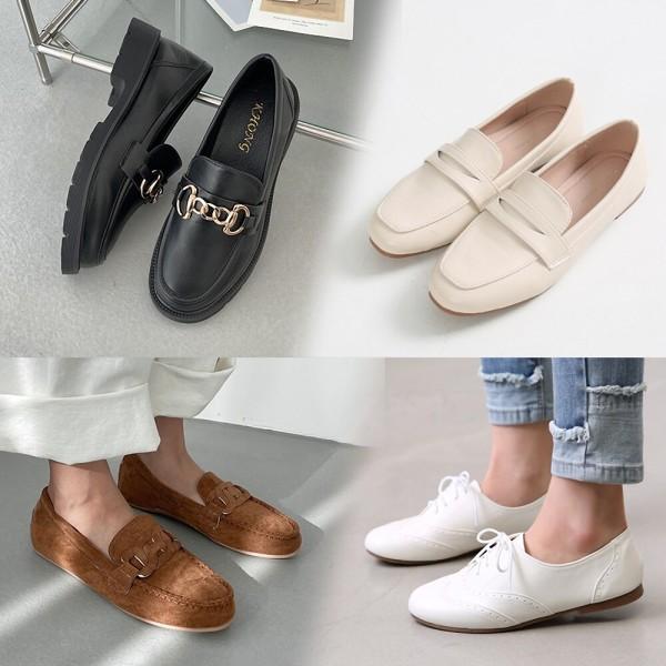 신상 에나멜 로퍼 옥스퍼드화  여성 단화 여자 플랫 상품이미지