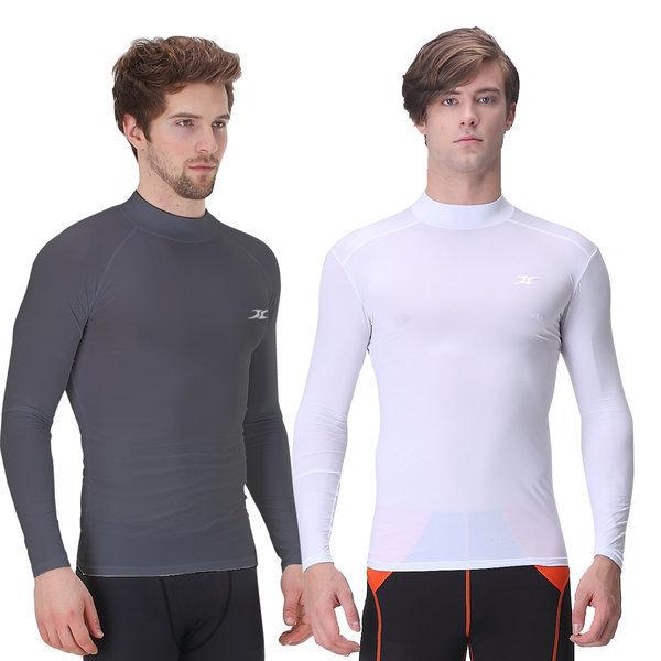남성 언더레이어 골프웨어 운동복 상의 티셔츠 쿨티 상품이미지