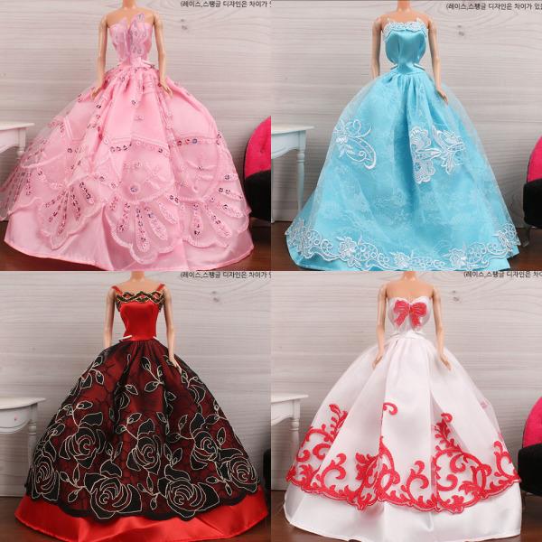 레몬알갱이쥬쥬/바비/미미/드레스/인형옷/선물/어린이 상품이미지