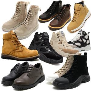 남성부츠 남자워커 키높이슬립온 로퍼 스니커즈 신발