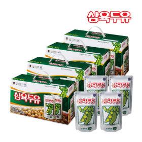 삼육두유 파우치 195ml 80팩  건강음료 콩두유