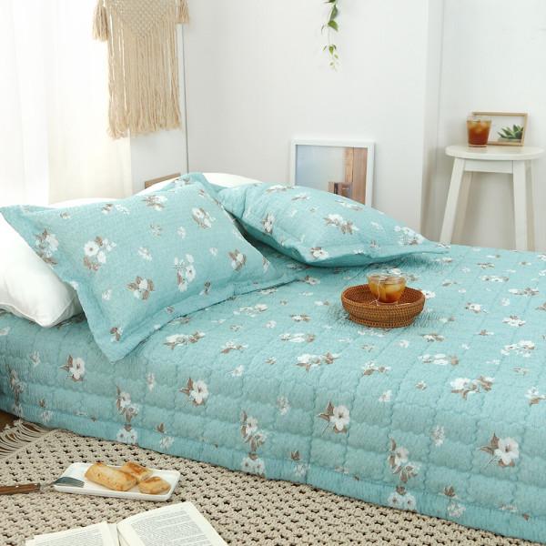시어서커 여름 침대패드 이불 패드 누빔 순면 거실 요 상품이미지