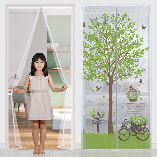 다샵 일체형자석모기장 방문 현관문 창문 문발 방충망 상품이미지