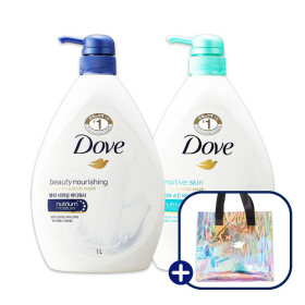 Body wash beauty nourishing 1L + sensitive skin 1L