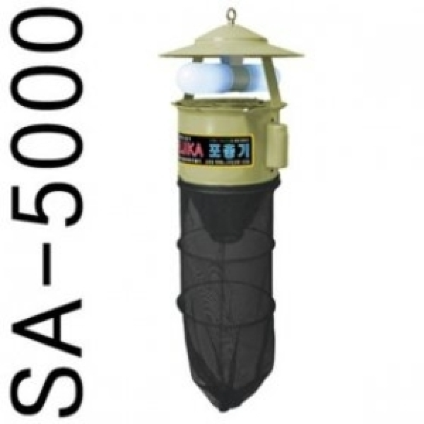 추천상품 후지카포충기SA-5000/해충퇴치기/모기퇴치기/벌레퇴치기/날파리/모기퇴치/버그킬러/전격살충기/장 상품이미지