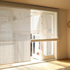 [창안애]우드블라인드 오동나무 화이트 원목 커튼 창문 거실