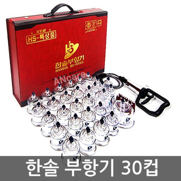 한솔 부항기 30컵 특대형 (권총형 펌프+지압봉 10개) 상품이미지
