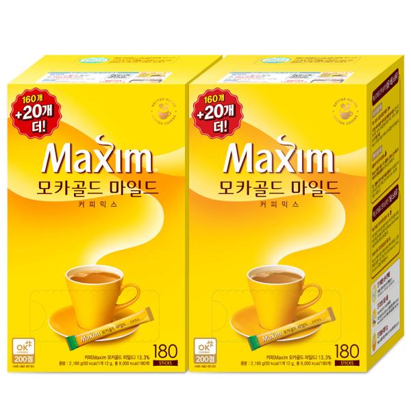 할인가32900/화이트 320T/모카 340T/커피믹스/커피 상품이미지