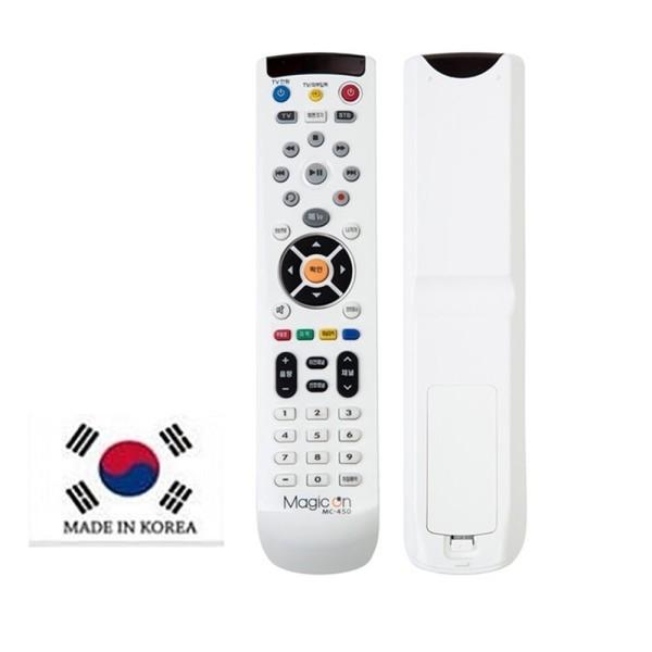 매직온 통합만능리모컨 TV/셋톱박스 MC-450 케이블TV 상품이미지