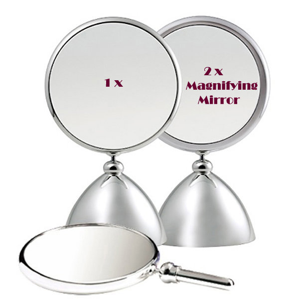 뷰티확대경 확대거울(중)/화장양면손탁상거울여친선물 상품이미지