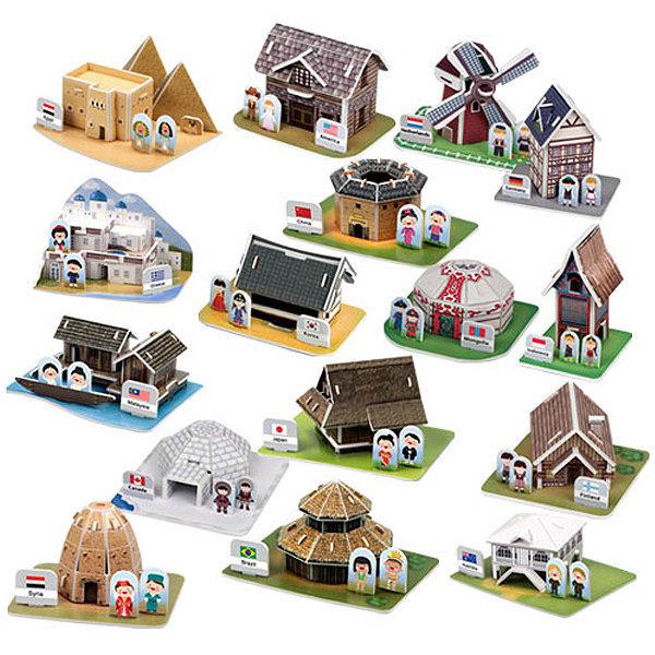 뜯어만드는세상 세계의 전통가옥과 전통의상/세계문화 상품이미지