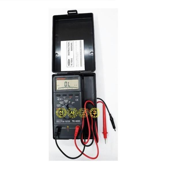 태광/TK-4003 디지털절연저항계/메가/TK4003/천사공구 상품이미지