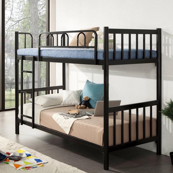 철제 이층 침대 모음 2층 벙커 기숙사 매트리스 포함 상품이미지