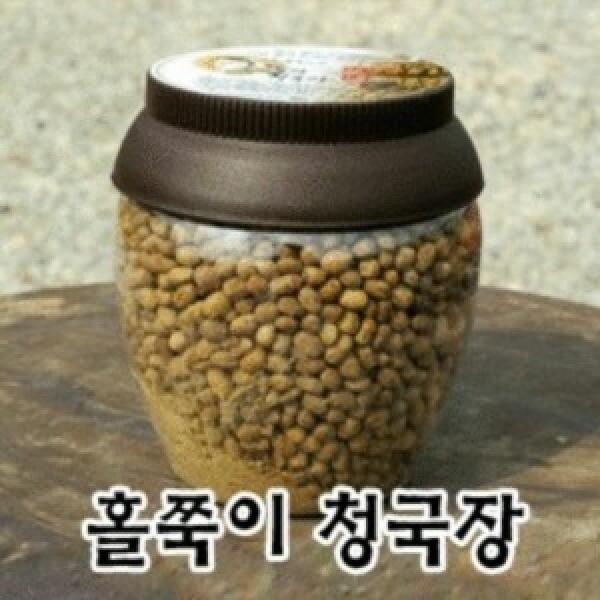 홀쭉이청국장 500 g / 국산콩/ 아침이 즐거워져요 상품이미지