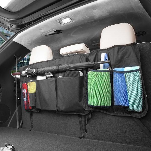 자동차 트렁크정리함 스탠드포켓+우산걸이 SUV RV전용 상품이미지