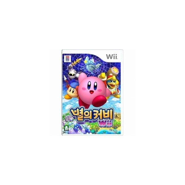 (닌텐도 Wii) 별의 커비 Wii (한글판) 상품이미지