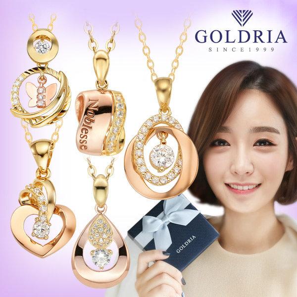 18k여성목걸이 2탄/229000원~/펜던트+체인/선물/금 상품이미지