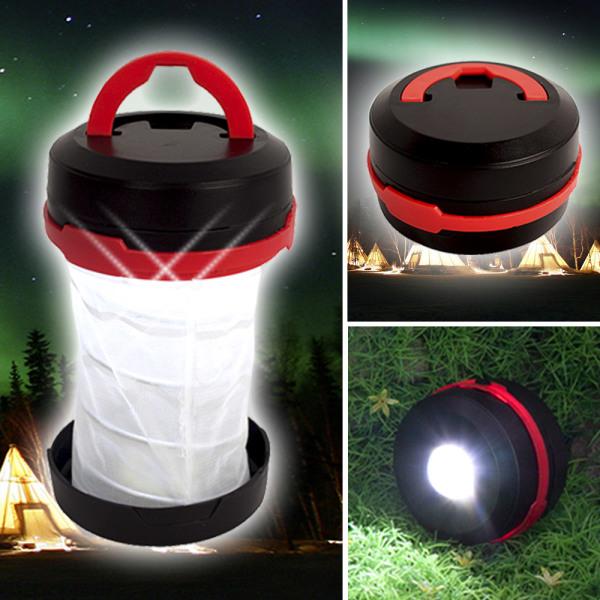 팝업 캠핑랜턴 후레쉬 LED랜턴 캠핑등 LED램프 손전등 상품이미지