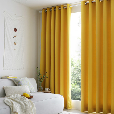 Blackout curtain 1+1/lace curtain/chiffon curtain/slub curtain