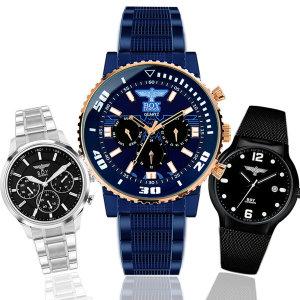 [보이런던]보이런던시계 남성시계~메탈시계 남자시계 손목시계