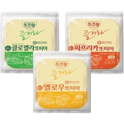 남향또띠아 10호 칼라 1박스(120장) 상품이미지