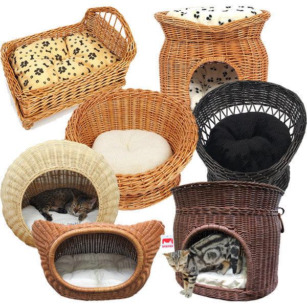 사계절 럭셔리 라탄하우스 강아지 고양이집 상품이미지