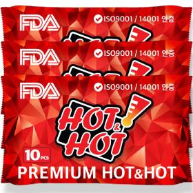 프리미엄 핫팩(RED) 30매 국내유일FDA승인 ISO환경인증