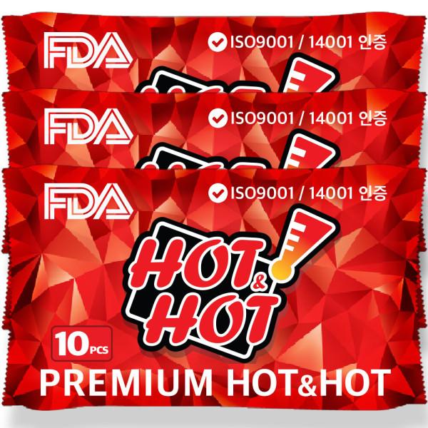 프리미엄핫앤핫 FDA 대용량 군용 미니 발 붙이는 핫팩 상품이미지