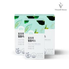 종합비타민 4FREE G.웰플러스 3병 (6개월) 11338