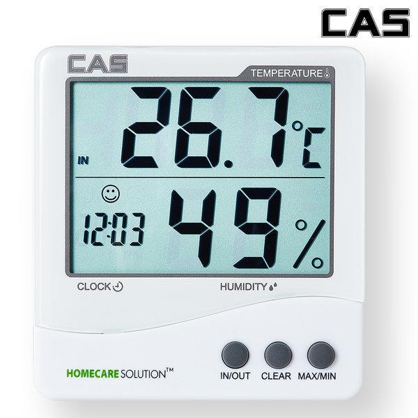 카스(CAS) 디지털 온습도계 TE-201 상품이미지