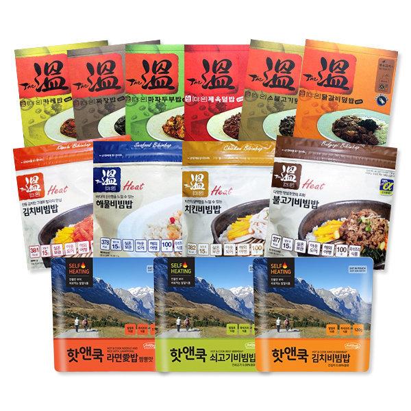 참맛/전투식량/발열도시락/더온/간편식사/즉석밥 상품이미지