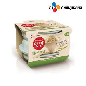 [햇반](CJ)햇반 흑미밥 210gx24개/발아현미밥/즉석밥