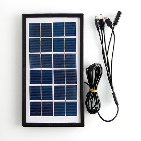 쏠라 태양광충전기 5종커넥터 USB 스마트폰충전기 상품이미지