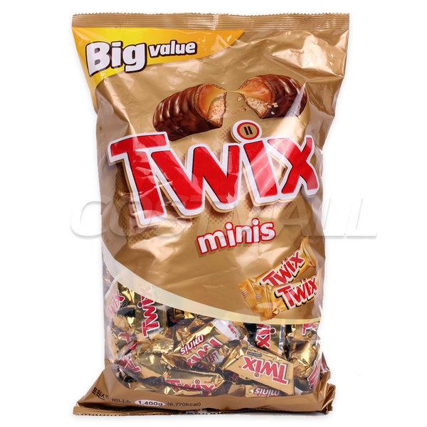 트윅스 미니스 초콜릿 1875g/초코바 미니어쳐 코스트 상품이미지