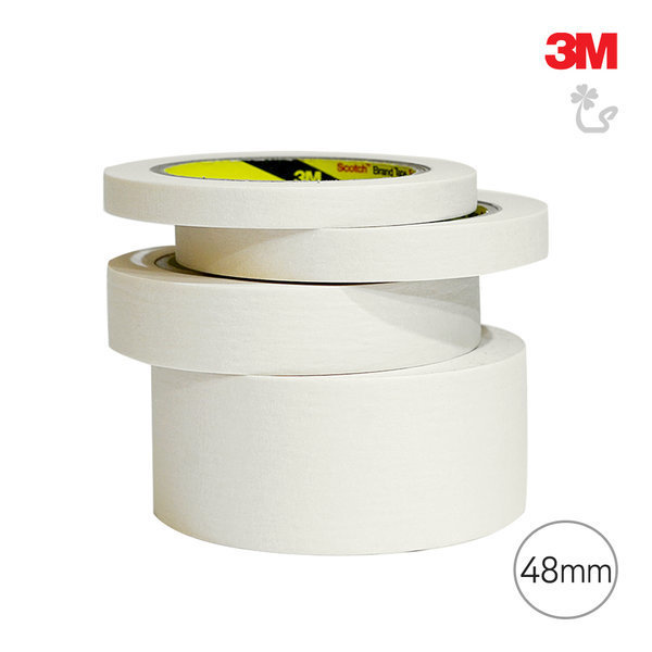 3M 마스킹 Q 카바링 종이 테이프 비닐 페인트 실리콘 상품이미지