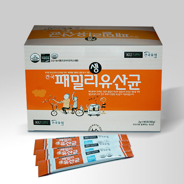 건국유업 건국패밀리생유산균(90포) 프로바이오틱스 상품이미지