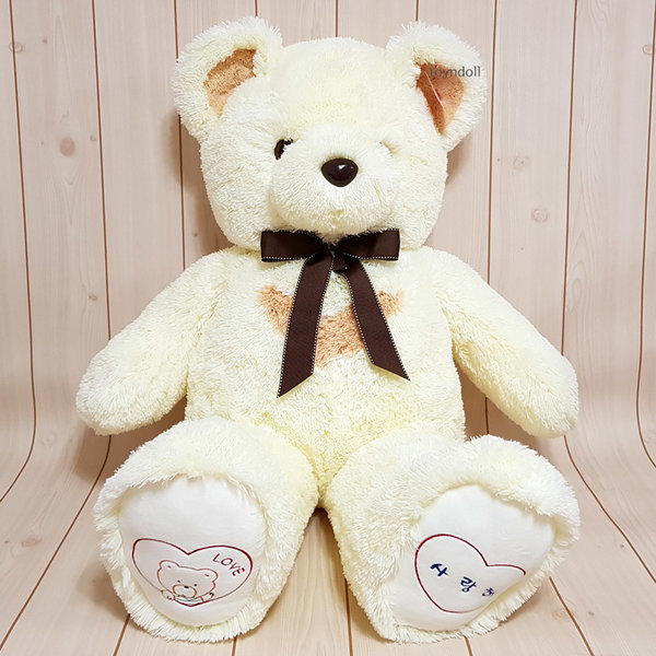 반달곰 인형 100cm 대형 곰인형 아이보리 기본형 상품이미지