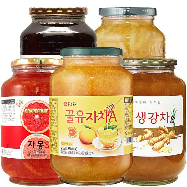 담터/꽃샘/다미즐/액상차2kg/유자차/청귤차/레몬차 상품이미지